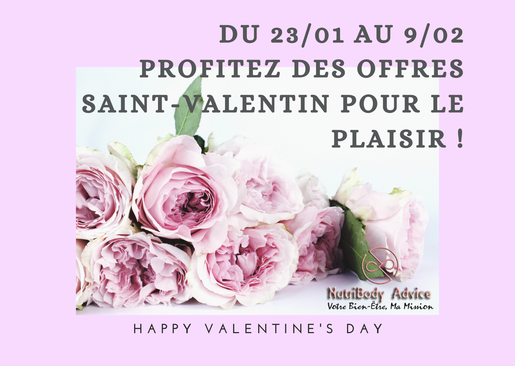 OFFRES Saint-Valentin